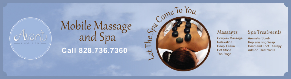 Avanti Mobile Spa and Massage – Bryson City, NC